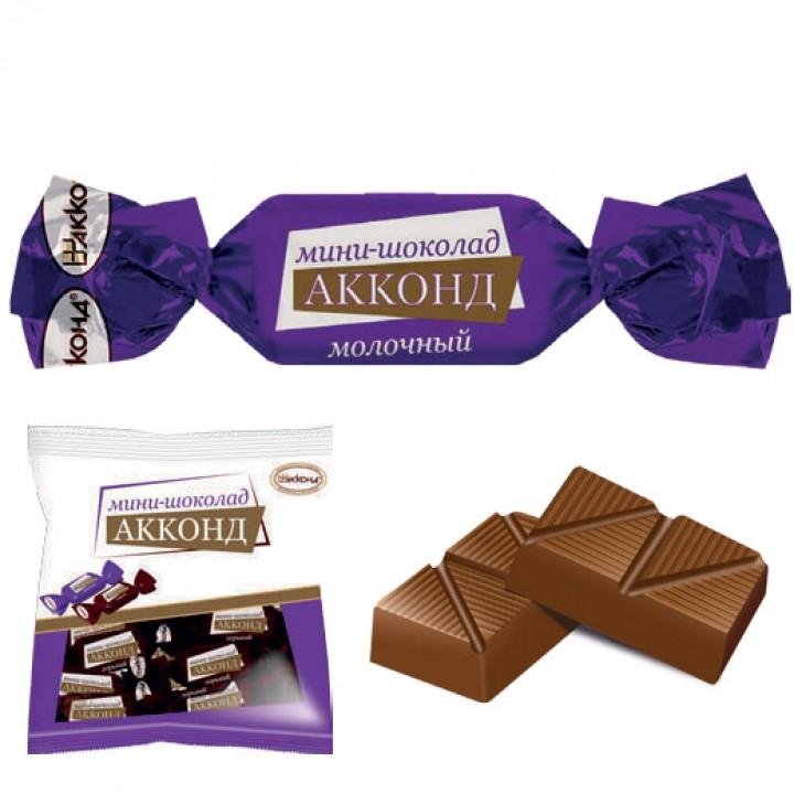 «Мини-шоколад АККОНД» молочный