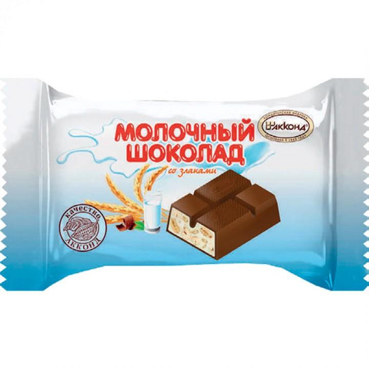 «Шоколад молочный» со злаками