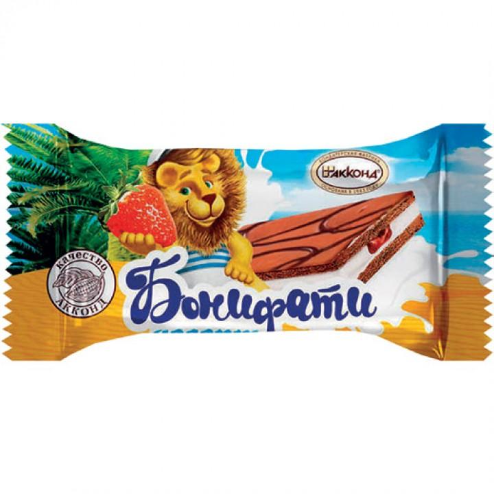 Десерт «Бонифати» клубника