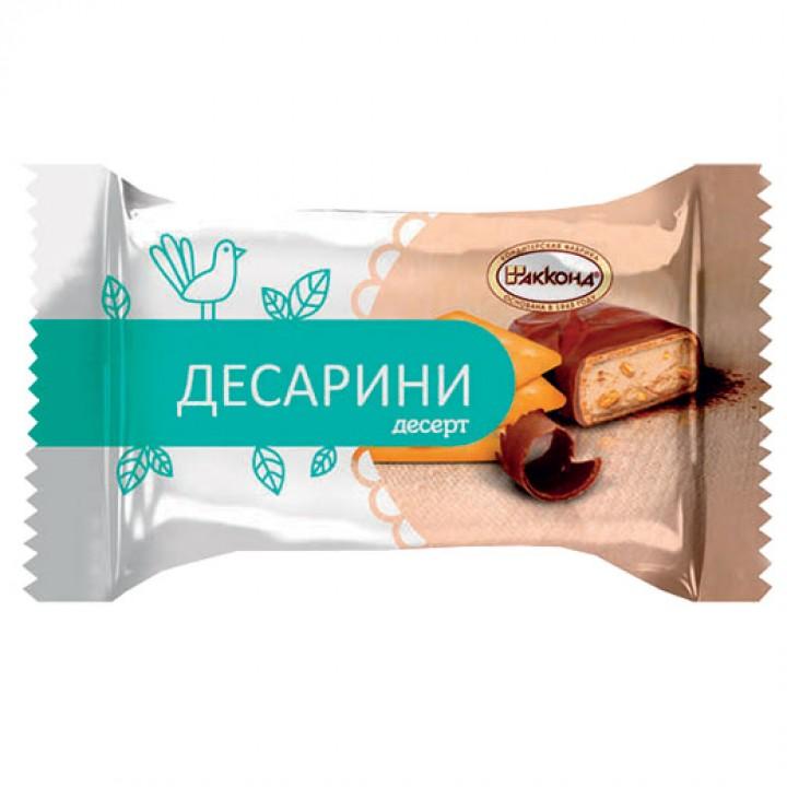 Десерт «Десарини» с крошкой крекера