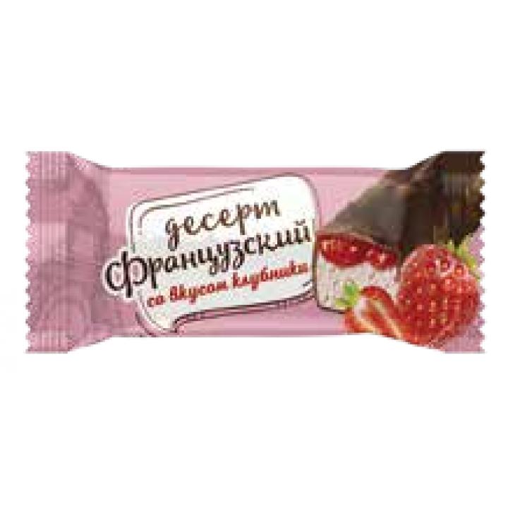 Конфеты Французский десерт со вкусом клубники Невский кондитер