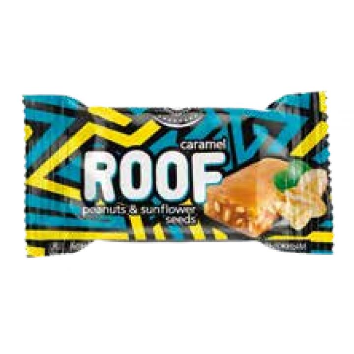 Конфеты ROOF мягкая карамель с арахисом и семенами подсолнечника Невский кондитер