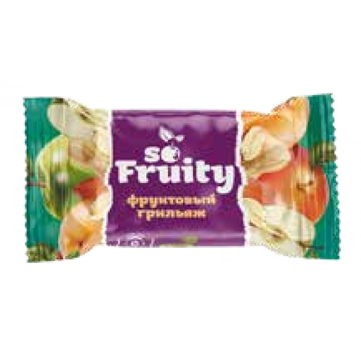 Конфеты So Fruity мягкий фруктовый грильяж Невский кондитер