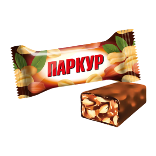 Конфеты ПАРКУР карамель с арахисом Невский кондитер