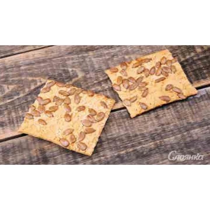 Печенье Хрустящие с семенами подсолнечника и кунжута в сахаре