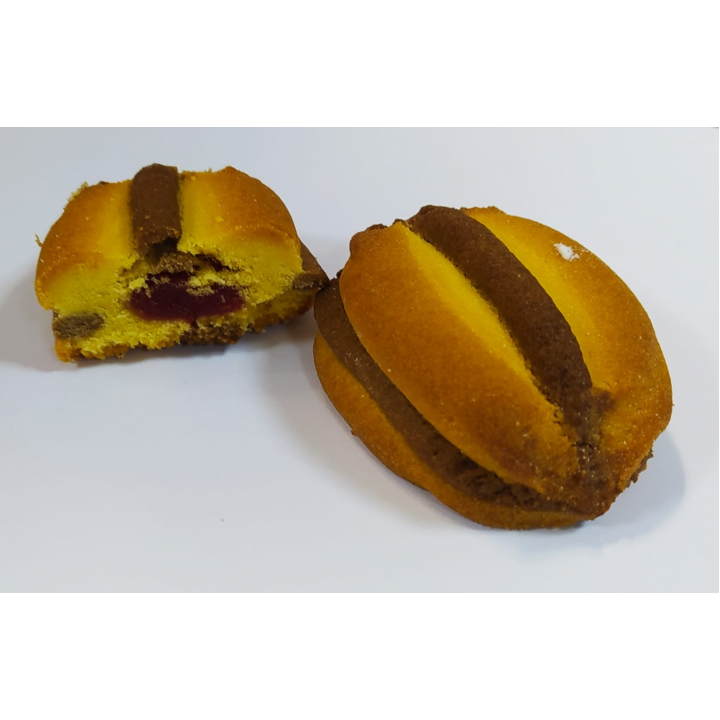 Печенье Шериме клюква 2кг Ден-Трал